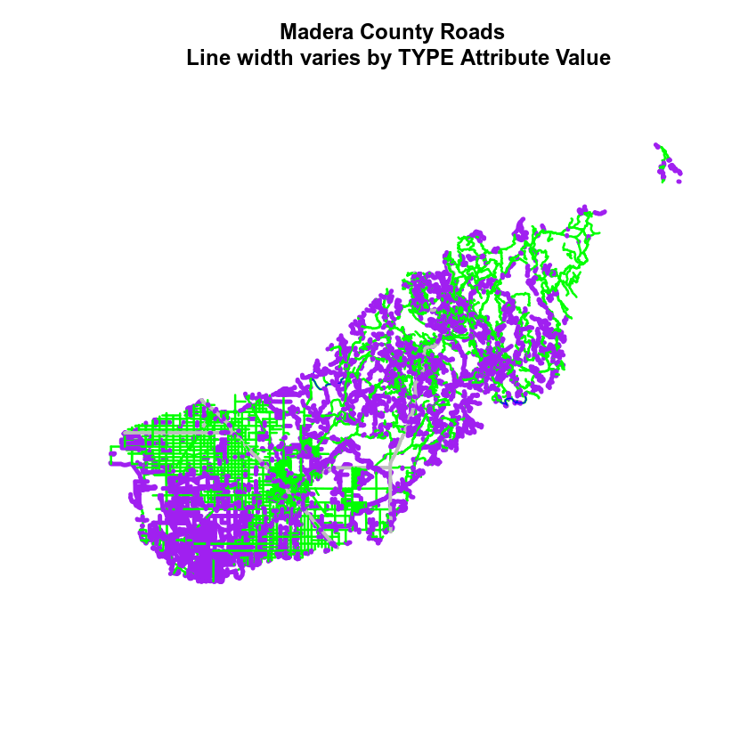 GIS in R: Plot Spatial Data and Create Custom Legends in R
