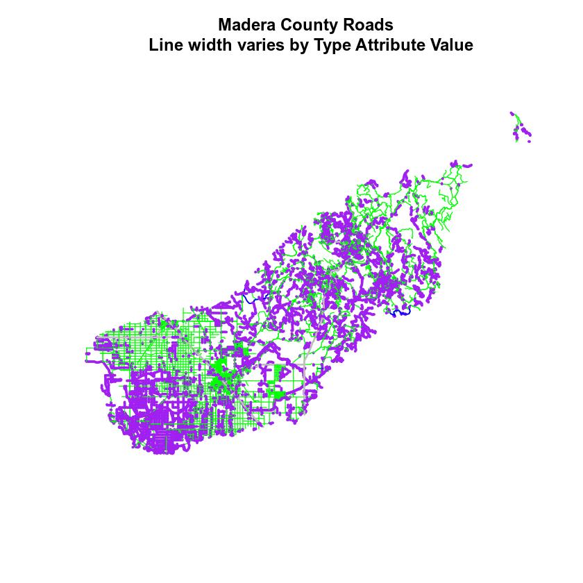 roads map modified