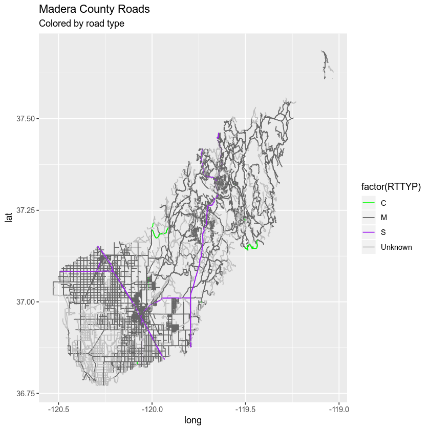 Maps in R: R Maps Tutorial Using Ggplot | Earth Data Science