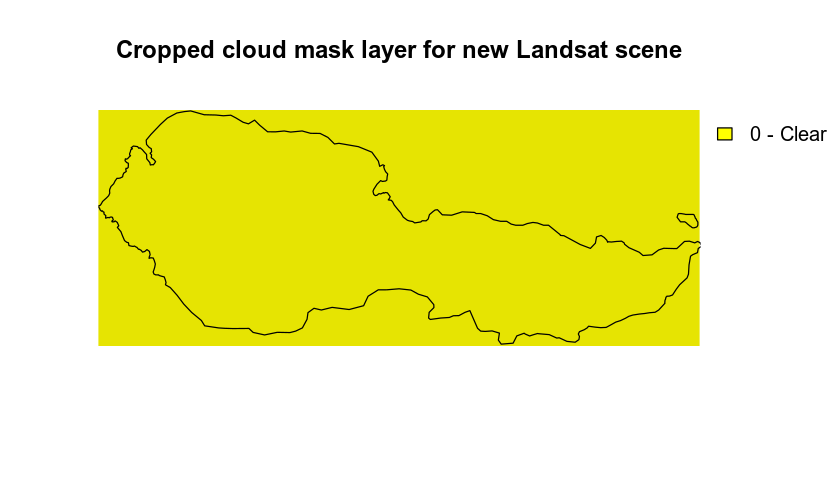 cloud mask cropped layer
