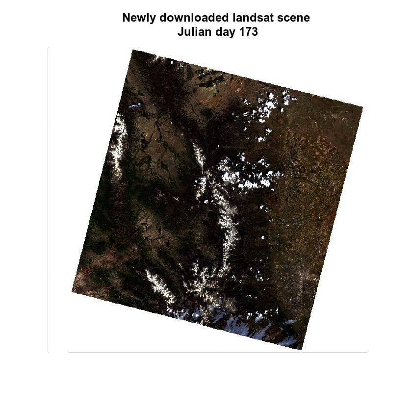 landsat new image