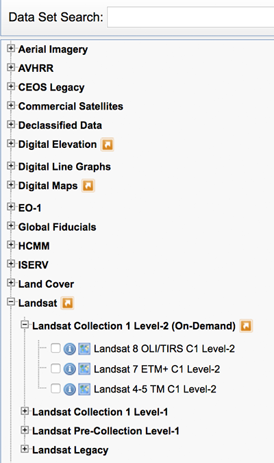 How to download landsat 8 or any satellite data from usgs earth.