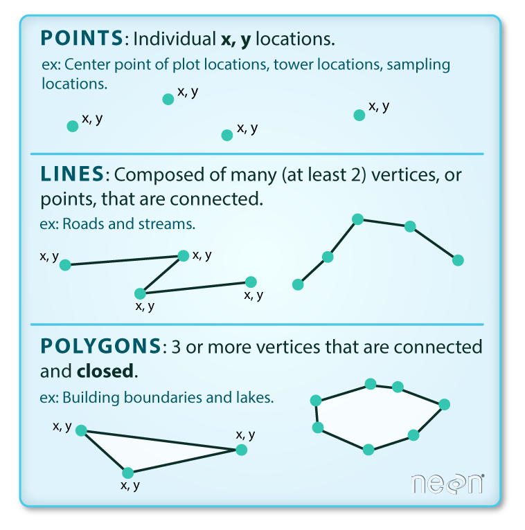 points lines and polygons graphic.