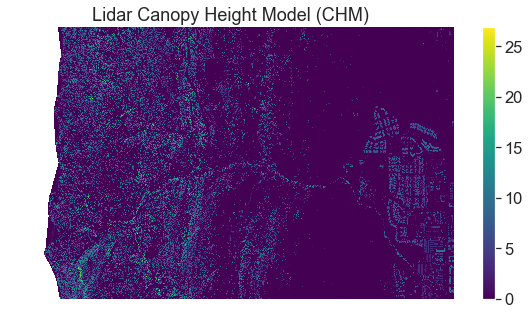 Canopy height model plot - uncropped.