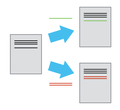 Different versions of the same document can be saved within a version control system. Source: Software Carpentry.