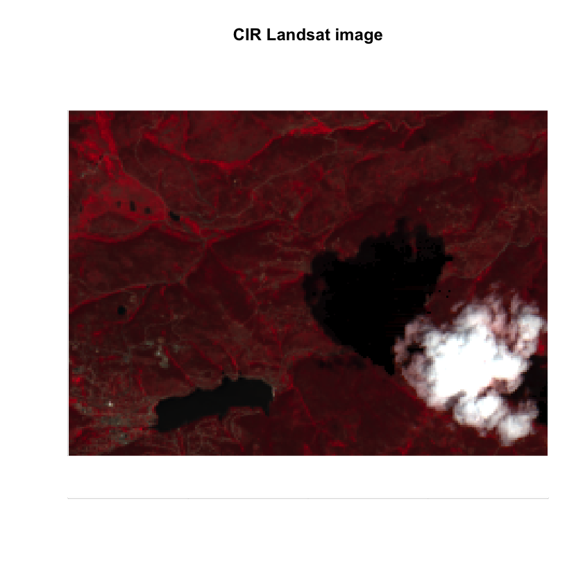 Landsat Post Fire RGB Image