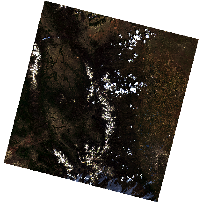 imagery with fewer clouds